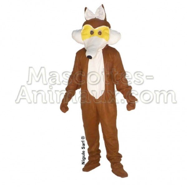 Buy cheap coyote mascot costume. Fancy coyote mascot costume. Discount coyote mascot.