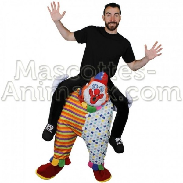 Buy cheap clown riding mascot costume. Fancy clown riding mascot costume. Discount clown riding mascot.