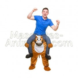 Buy cheap bulldog dog riding mascot costume. Fancy bulldog dog riding mascot costume. Discount dog riding mascot.
