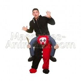 Achat riding mascotte clown maléfique pas chère. Déguisement riding mascotte clown maléfique. Riding Mascotte discount clown.