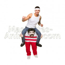 Buy cheap athlete riding mascot costume. Fancy athlete riding mascot costume. Discount athlete riding mascot.