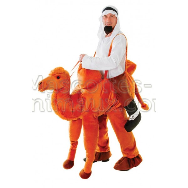 Buy cheap camel riding mascot costume. Fancy camel riding mascot costume. Discount camel riding mascot.