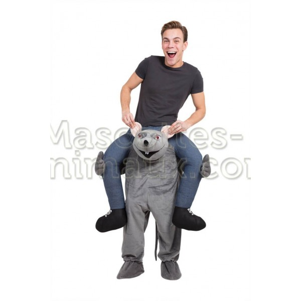 Buy cheap rat riding mascot costume. Fancy rat riding mascot costume. Discount rat riding mascot.