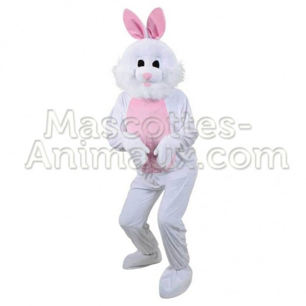 Easter Bunny Rabbit Mascot Costume Adult Costume Fancy Party Dress Adult