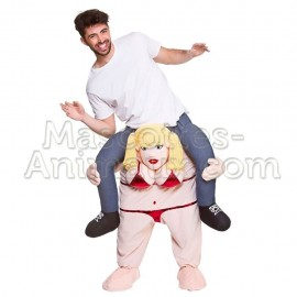 buy cheap bikini woman riding mascot costume. Fancy bikini woman riding mascot costume. Discount woman riding mascot.