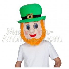 buy cheap leprechaun head mascot costume. Fancy leprechaun head mascot costume. Discount leprechaun head mascot.