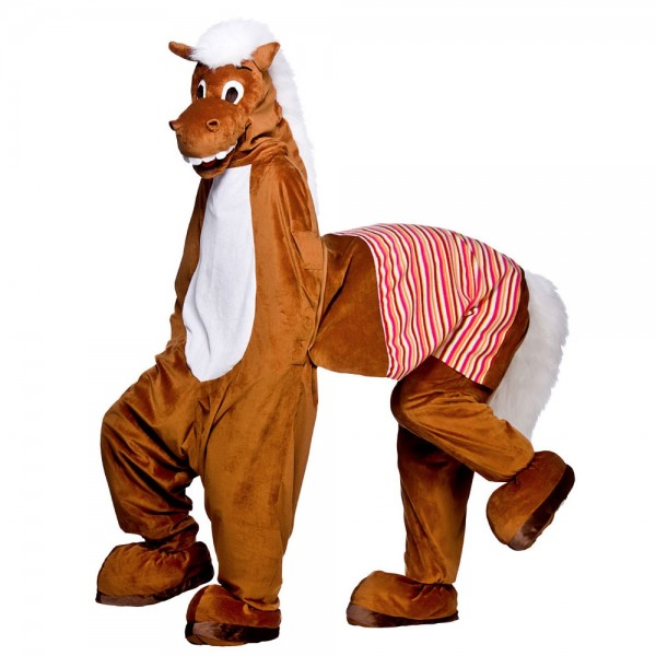 two seater horse mascot costume
