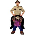 Adult Reindeer Riding Mascot Costume