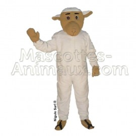 Buy cheap white sheep mascot costume. Fancy sheep mascot costume. Discount sheep mascot.