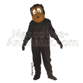 Buy cheap black monkey mascot costume. Fancy monkey mascot costume. Discount monkey mascot